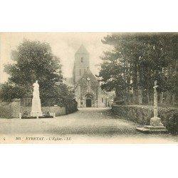 carte postale ancienne 76 ETRETAT. L'Eglise 1923