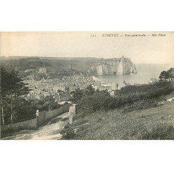 carte postale ancienne 76 ETRETAT. Vue générale 101