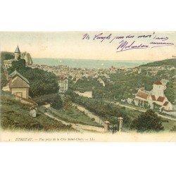 carte postale ancienne 76 ETRETAT. Vue 1904