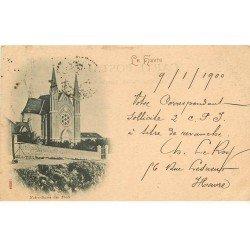 carte postale ancienne 76 ROUEN. Chapelle Notre-Dame des Flots 1900