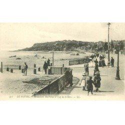 carte postale ancienne 76 ROUEN. Boulevard Maritime Cap Hève