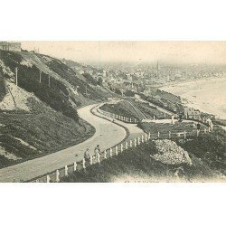 carte postale ancienne 76 ROUEN. Boulevard Félix Faure