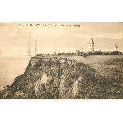 carte postale ancienne 76 ROUEN. Cap de la Hève 1932 et Falaise