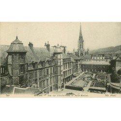 carte postale ancienne 76 ROUEN. Promotion : Archevêché et Saint-Maclou
