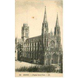 carte postale ancienne 76 ROUEN. Promotion : Eglise Saint-Ouen