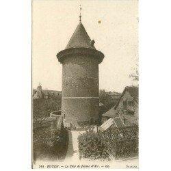 carte postale ancienne 76 ROUEN. Promotion : Tour Jeanne d'Arc