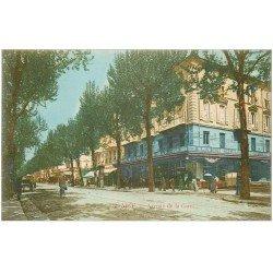 carte postale ancienne 06 NICE. Avenue de la Gare. A la Ménagère