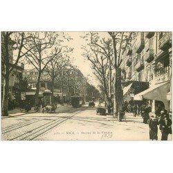 carte postale ancienne 06 NICE. Avenue de la Victoire 1920. Hanan