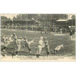 carte postale ancienne 44 ANCENIS. Concours Gymnastique par Etoile de Saint-Nazaire