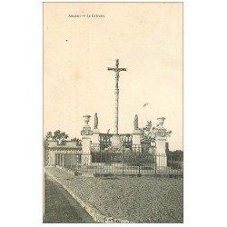 carte postale ancienne 44 ANCENIS. Le Calvaire 1907