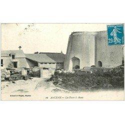 carte postale ancienne 44 ANCENIS. Les Fours à Chaux 1921