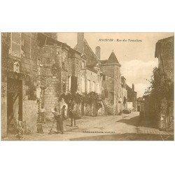 carte postale ancienne 44 ANCENIS. Rue des Tonneliers