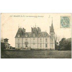 carte postale ancienne 44 BLAIN. Château de la Barrière 1905
