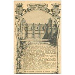 carte postale ancienne 44 Château de Goulaine 1905