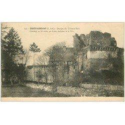 carte postale ancienne 44 CLISSON. Donjon du Château