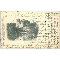 carte postale ancienne 44 CLISSON. Le Château 1903