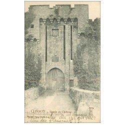 carte postale ancienne 44 CLISSON. Le Château entrée 1903