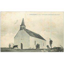 carte postale ancienne 44 CONQUEREUIL. Chapelle 1909
