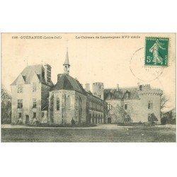 carte postale ancienne 44 GUERANDE. Château de Lauvergnac 1911