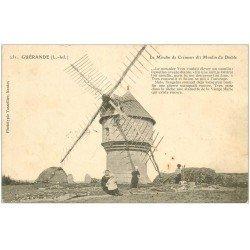 carte postale ancienne 44 GUERANDE. Moulin du Diable ou Cremeur 1904