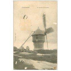 carte postale ancienne 44 GUERANDE. Moulin du Diable ou Cremeur 1907. Timbre absent