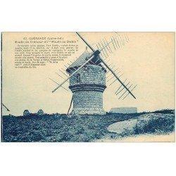 carte postale ancienne 44 GUERANDE. Moulin du Diable ou Cremeur bleuté