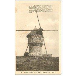 carte postale ancienne 44 GUERANDE. Moulin du Diable. Timbre Taxe 30 centimes 1937