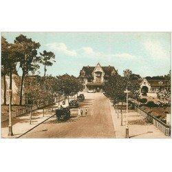 carte postale ancienne 44 LA BAULE. Avenue de la Gare vers 1949