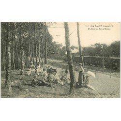 carte postale ancienne 44 LA BAULE. Bois d'Amour avev Petit Train