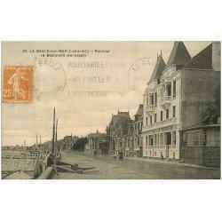 carte postale ancienne 44 LA BAULE. Boulevard Hennecart 1927