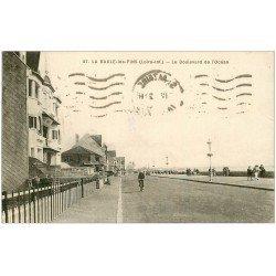 carte postale ancienne 44 LA BAULE. Boulevard Océan 1939