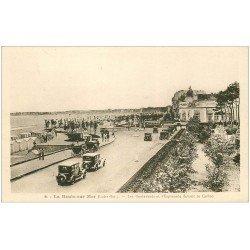 carte postale ancienne 44 LA BAULE. Boulevards et Esplanade Casino