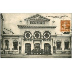 carte postale ancienne 44 LA BAULE. Entrée Casino 1929