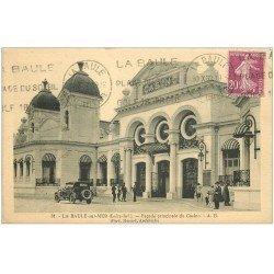 carte postale ancienne 44 LA BAULE. Façade du Casino 1932