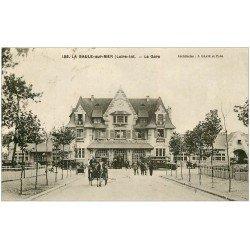 carte postale ancienne 44 LA BAULE. La Gare