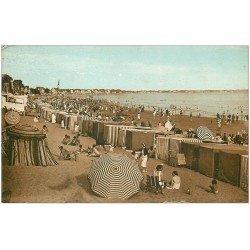 carte postale ancienne 44 LA BAULE. La Plage 1938