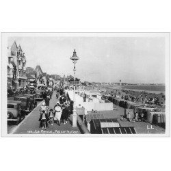 carte postale ancienne 44 LA BAULE. La Plage. Carte Photo 196