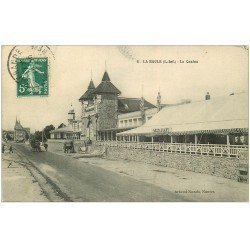 carte postale ancienne 44 LA BAULE. Le Casino