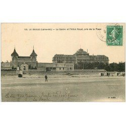carte postale ancienne 44 LA BAULE. Le Casino et Hôtel Royal 1923