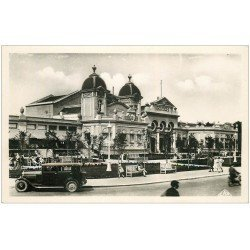 carte postale ancienne 44 LA BAULE. Le Casino Superbe voiture. Carte Photo