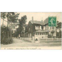 carte postale ancienne 44 LA BAULE. Les Bruyères Allée des Magnolias 1913