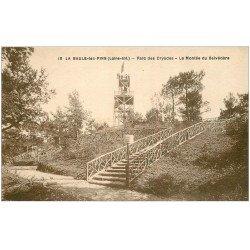 carte postale ancienne 44 LA BAULE. Montée Belvédère Parc Dryades