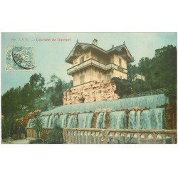 carte postale ancienne 06 NICE. Cascade Gairaut vers 1907