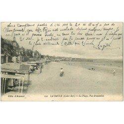 carte postale ancienne 44 LA BAULE. Plage 1918