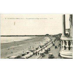 carte postale ancienne 44 LA BAULE. Plage 1931