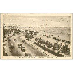 carte postale ancienne 44 LA BAULE. Plage 1936
