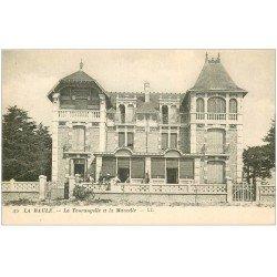 carte postale ancienne 44 LA BAULE. Tourangelle et Mancelle