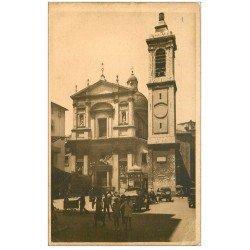 carte postale ancienne 06 NICE. Cathédrale Sainte-Reparate (pli coin droit)...