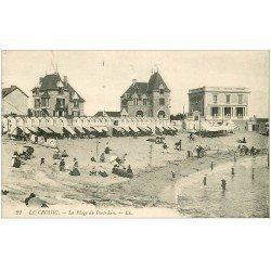 carte postale ancienne 44 LE CROISIC. Plage Port-Lin