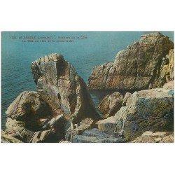 carte postale ancienne 44 LE CROISIC. Tête de Lion et Grand Autel